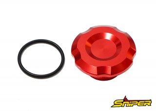 CBR250RR MC51 ステムナットキャップ 赤