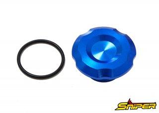 CBR250RR MC51 GROM JC92 ステムナットキャップ 青