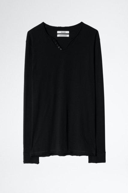 MONASTIR ML NECK BASIC Tシャツ