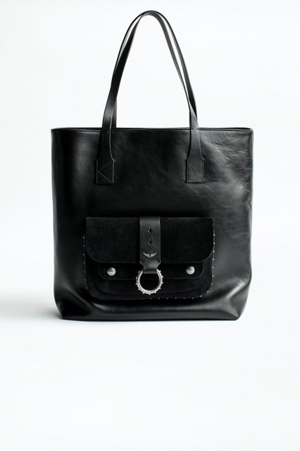 KATE SHOPPER SMOOTH CALFSKIN + SUEDE バッグ