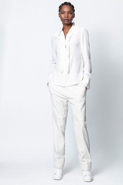 TRIS JAC LEO BISOUS SHIRT シャツ