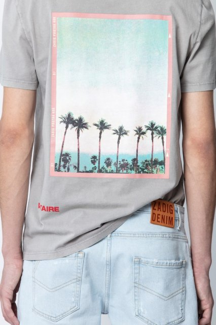 TED HC PEACE PHOTOPRINT Tシャツ