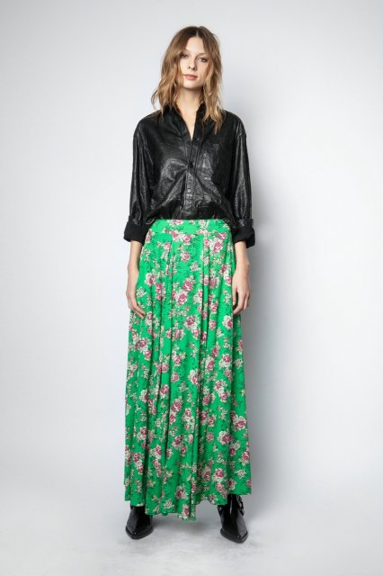JOYO PRINT ROSES スカート