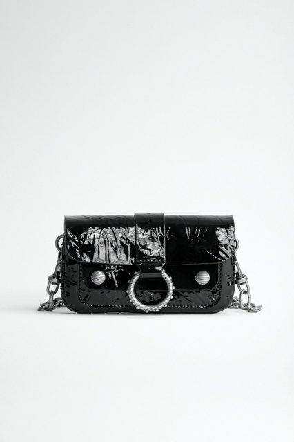 KATE WALLET - WRINKLE PATENT バッグ