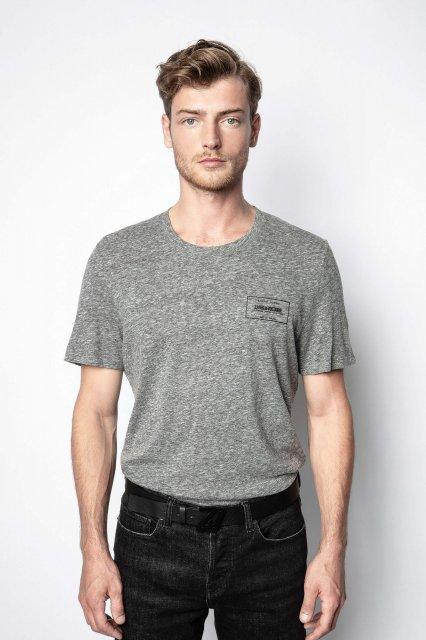 TED CV BLASON PRINT FLOCK DEVANT Tシャツ