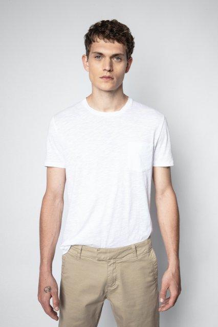 STOCKHOLM TDM CAMOU POCKET CHEST PRINT BACK Tシャツ