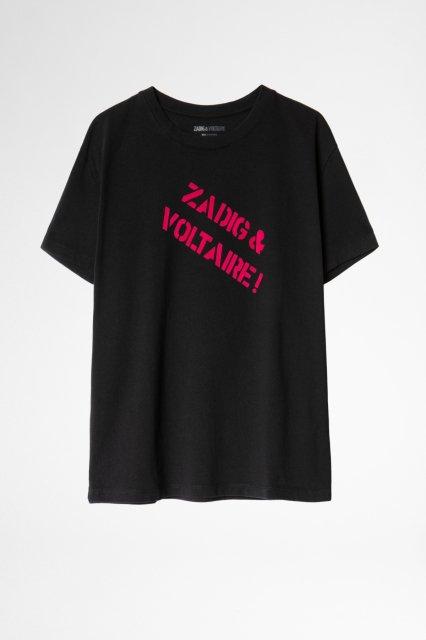 DYMA ZV BACKSTAGE COTON FLOCK Tシャツ