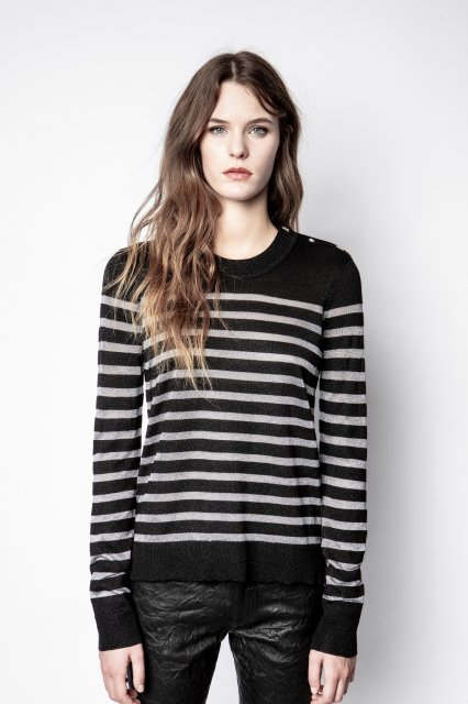MISS ML STRIPES ニット