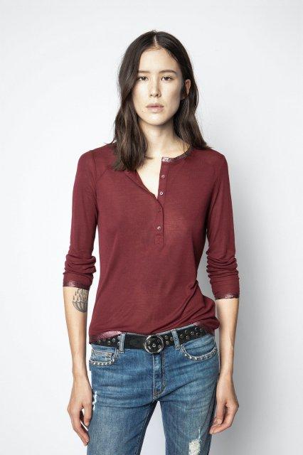 CHLO FOIL MODAL Tシャツ