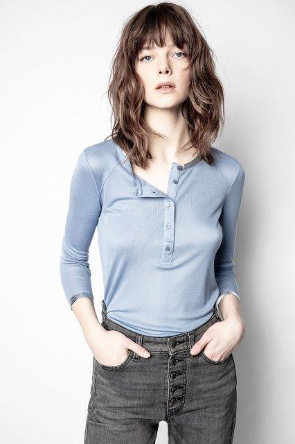 CHLO FOIL MODAL ML Tシャツ