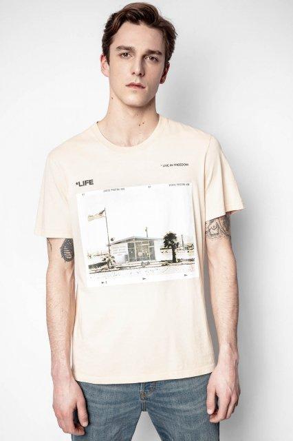 TED HC LIFE PHOTOPRINT COTON PRINT Tシャツ