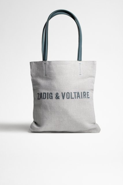 PLAYA ZADIG ET VOLTAIRE JUTE CANVAS バッグ
