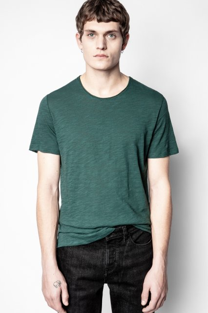 TOBY FLAMME ICONIC ZV COL ROND Tシャツ