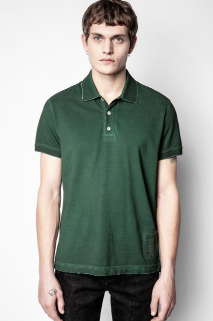 TROT MC COLD DYED POLO PIQUE ICONIC ZV Tシャツ