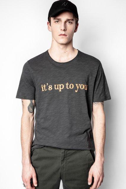 TOBY FLAMME PRINT DEVANT Tシャツ