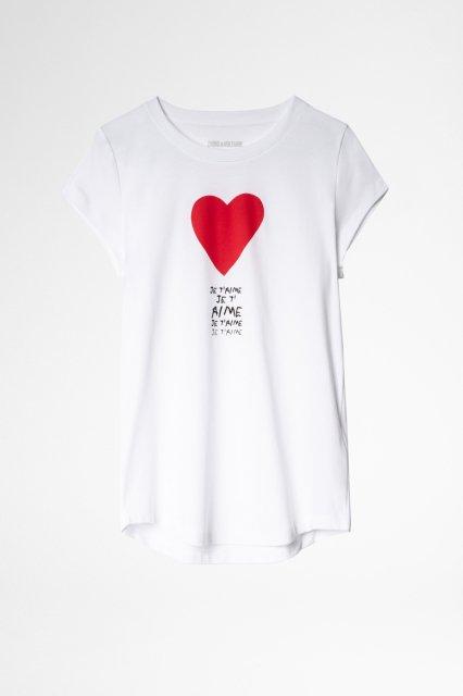 SKINNY COTON INTERLOCK Tシャツ