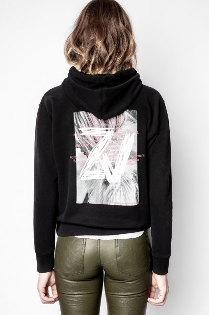 SPENCER PHOTOPRINT HOODIE COTON スウェット
