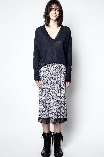 JENNY PRINT BEGONIA スカート