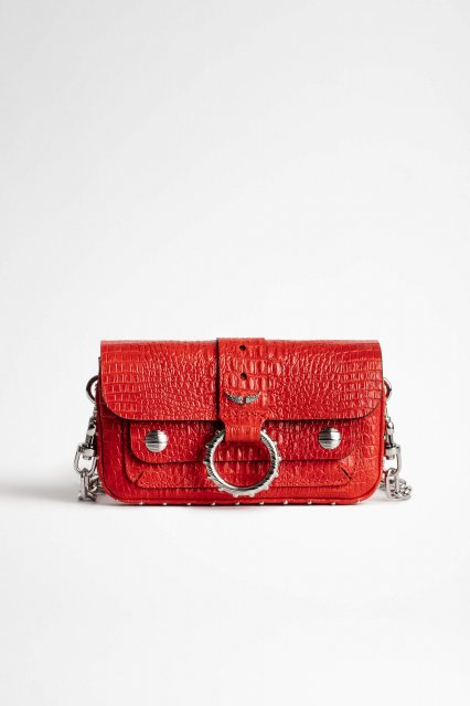 KATE WALLET EMBOSSED TINY CROCO バッグ