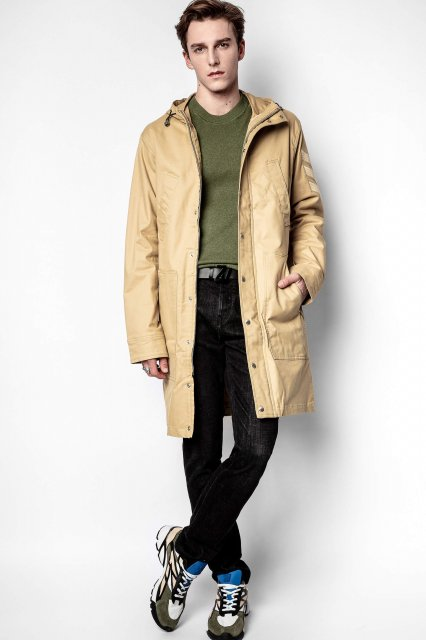 KOLT AMO BRAIDED COTTON PARKA アウーター