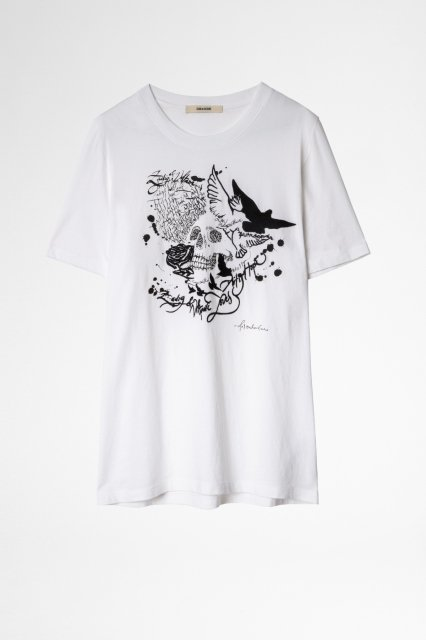 TED HC COMPO SKULL ART IS HOPE Tシャツ