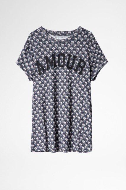 WALK AO LIBERTY SKULL AMOUR Tシャツ