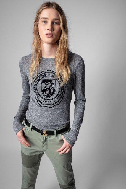 WILLY NEW BLASON CHINE OVERDYED Tシャツ