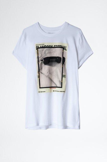 ZOE PHOTOPRINT Tシャツ