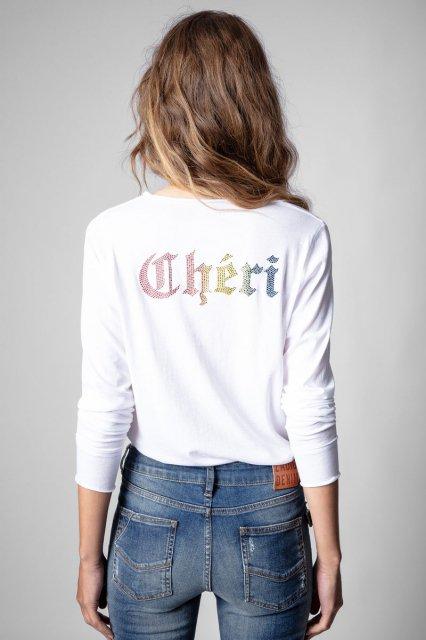 TUNISIEN ML CHERI STRASS Tシャツ