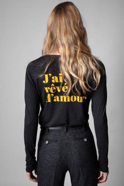 TUNISIEN ML J'AI REVE D'AMOUR Tシャツ