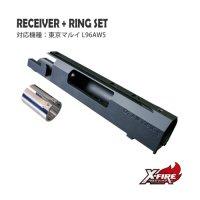 レシーバー+リングセット / 東京マルイ L96AWS