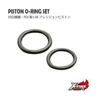 【メール便可】PDI ピストン用 O-リングSET / 東京マルイ L96AWS