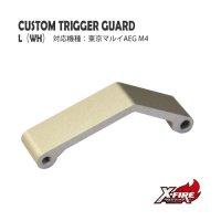 【メール便可】カスタムトリガーガード TYPE「L」/ 東京マルイ AEG M4シリーズ(custom trigger guard TYPE L / TM AEG M4 series)