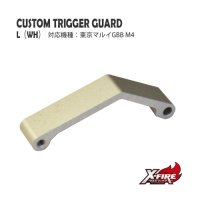 【メール便可】カスタムトリガーガード TYPE「L」/ 東京マルイ GBB M4シリーズ(custom trigger guard TYPE L / TM GBB M4 series)