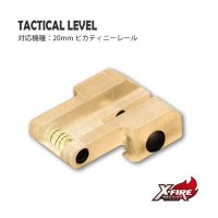 【メール便可】タクティカルレベル/20mmピカティニーレール(Tactical level / For Picatiny rail)