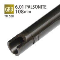 【メール便可】6.01 パルソナイトインナーバレル 108mm / 東京マルイ M&P9 Long , SIG AIR P320 M17 6mm