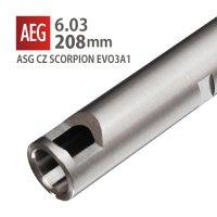 【メール便可】6.03インナーバレル 208mm / ASG CZ SCORPION EVO3A1
