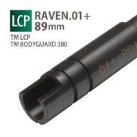 【メール便可】RAVEN 6.01+インナーバレル 89mm / 東京マルイ LCP TRACER,BODYGUARD 380 TRACER