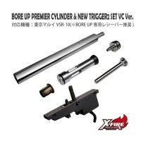 【メール便可】BORE UP Premierシリンダー&ニュートリガー2セットVC Ver. / 東京マルイ VSR-10用