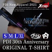 【メール便可】PDI30周年記念オリジナルTシャツ S-XLサイズ※同梱不可、購入枚数制限あり