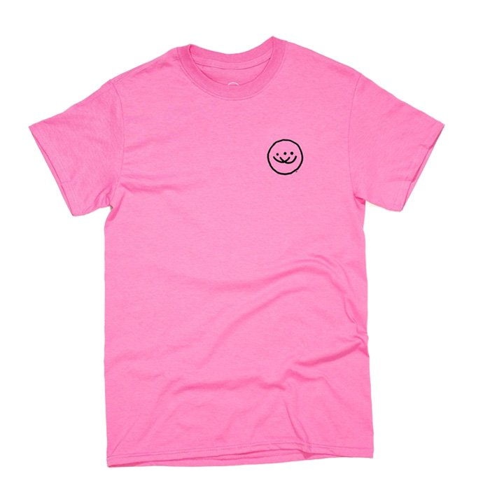 Doubles OG Smiley SS Tシャツ Pink