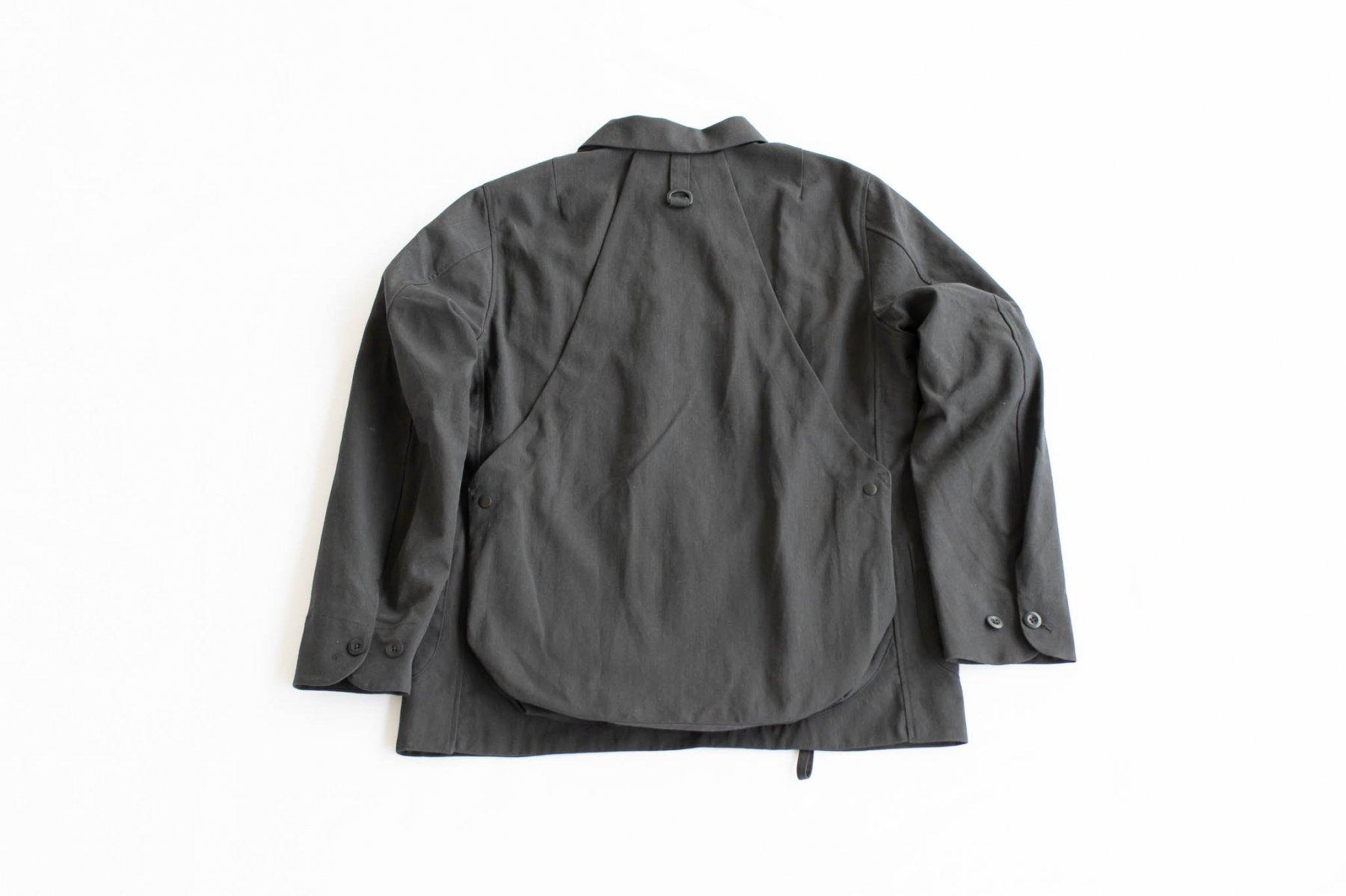 タキビ・カバーオール Black-1