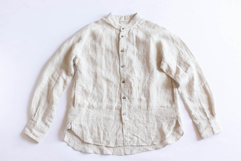 ゴデシャツ Linen/Kinari