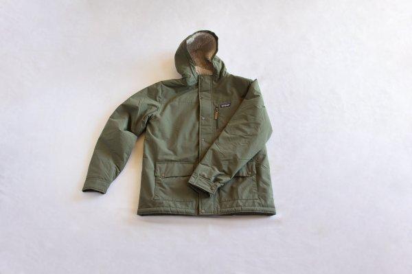 ボーイズ・インファーノ・ジャケット/Industrial Green w/Coriander Brown