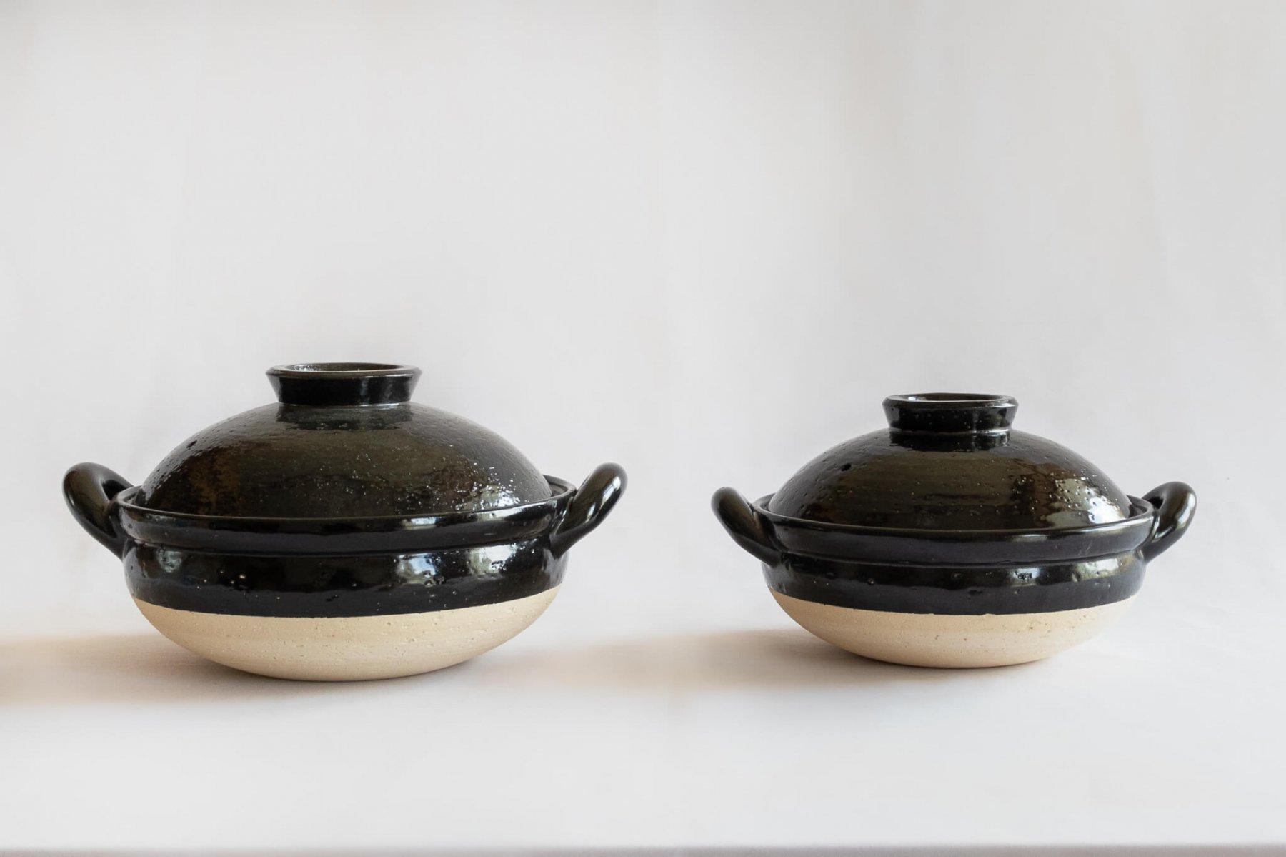 ヘルシー蒸し鍋 黒 (中)-4