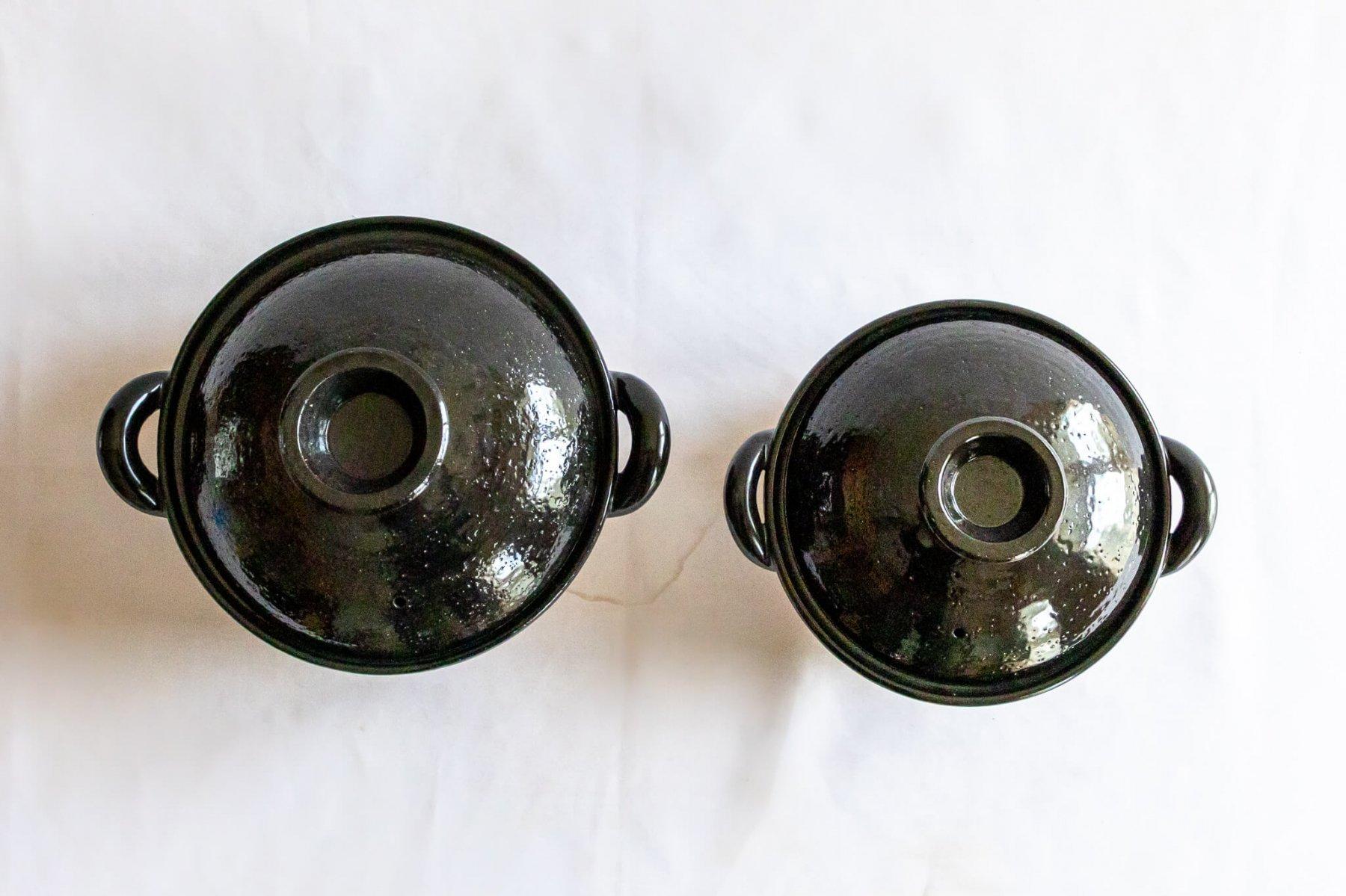 ヘルシー蒸し鍋 黒 (中)-5