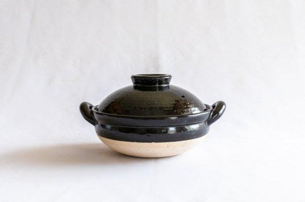 ヘルシー蒸し鍋 黒 (中)