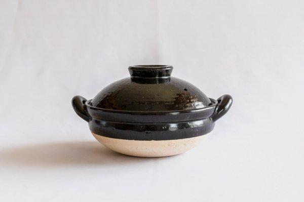 ヘルシー蒸し鍋 黒 (大)