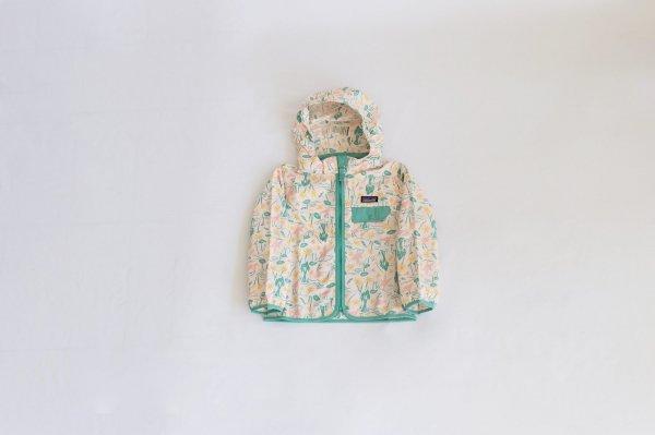 Patagonia(パタゴニア)Baby Baggies Jacket(Birds in Lotus:Prima Pink)