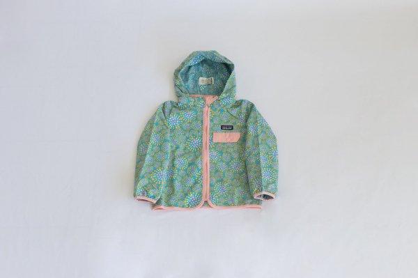 Patagonia(パタゴニア)Baby Baggies Jacket(Tropical Bloom:Joya Blue)